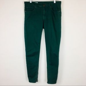 Gap legging jean with ankle zippers